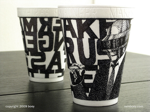 Amazing Coffee Cup Art by Cheeming Boey - AUA